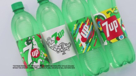 Back to cool: 7Up вернулась к винтажному дизайну этикеток